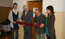 Striháme pásku s podpredsedom  Jednoty dôchodcov na Slovensku v Poprade.