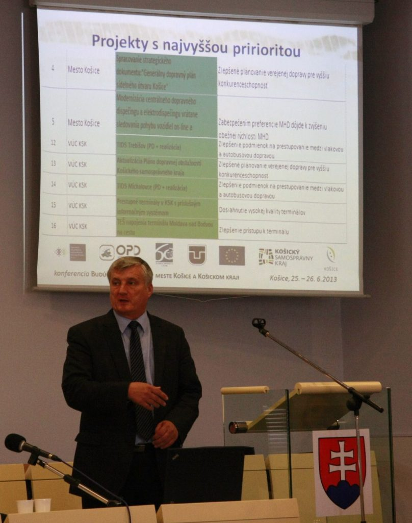 O regionálnom integrovanom dopravnom systéme hovorí Ing. Ján Olexa, Košický samosprávny kraj