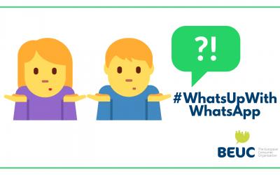 Spotrebiteľské organizácie podali sťažnosť na WhatsApp za tlak na spotrebiteľov prijať ich nové podmienky