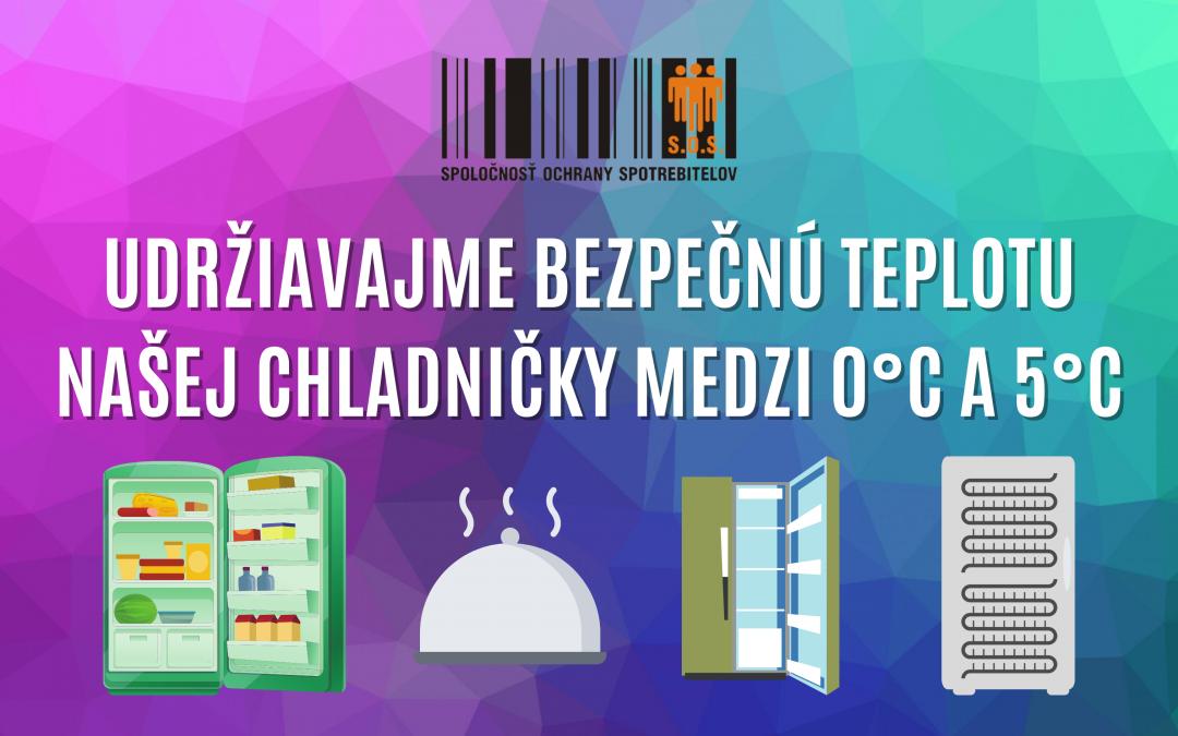 Ako správne nastaviť teplotu v chladničke?