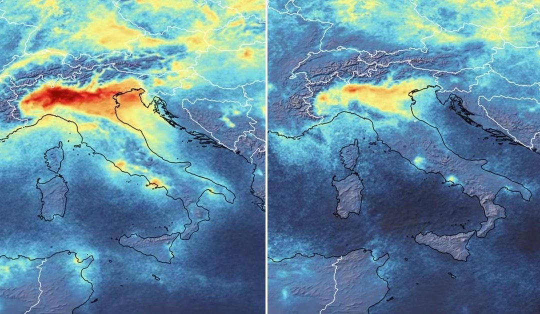 #KORONAVÍRUS: Emisie oxidu dusičitého v Taliansku klesajú