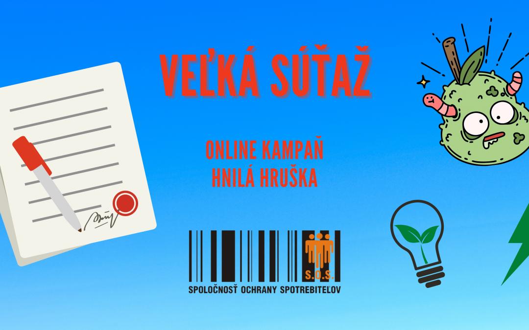 Online kampaň HNILÁ HRUŠKA