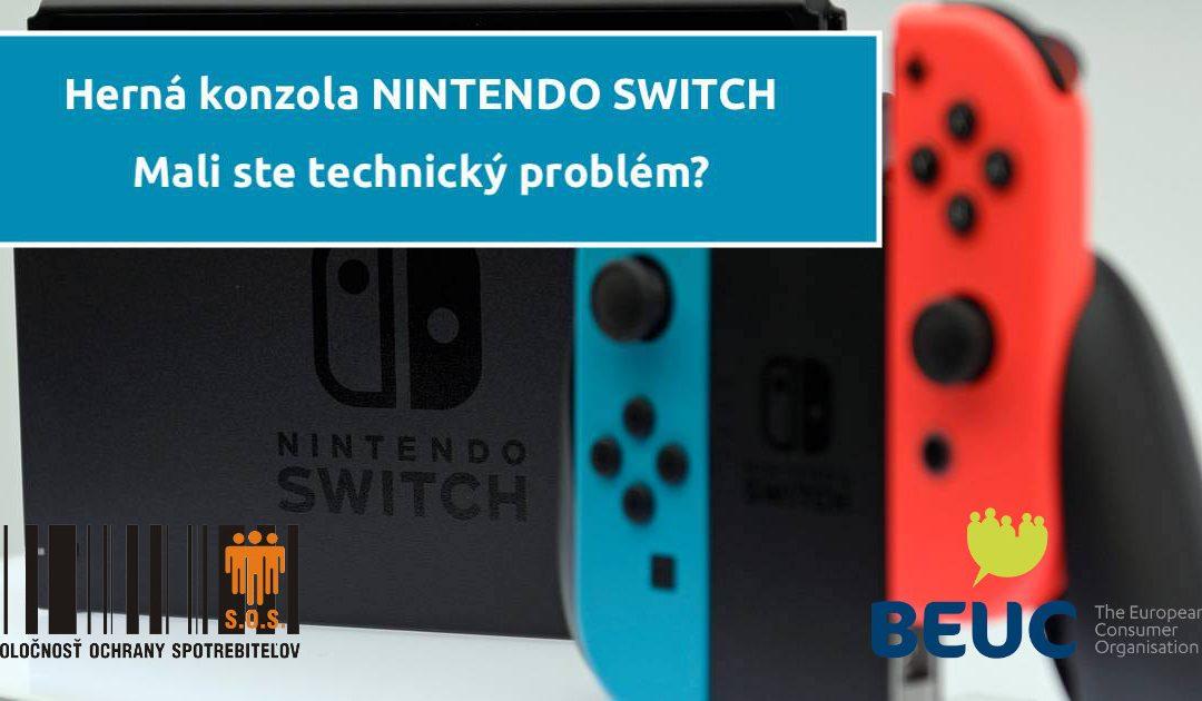Sťažnosti spotrebiteľov na hernú konzolu Nintendo Switch pribúdajú aj na Slovensku