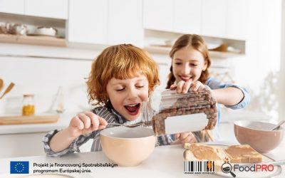 Medzinárodný test Food PRO: Dvojitá kvalita nie, skôr sladký život